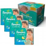 Maxi Giga Pack 350 Couches Pampers Active Baby Dry