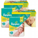 Maxi Mega Pack 384 couches Pampers New Baby Premium Protection