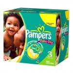 Pack 136 Couches Pampers Baby Dry sur layota