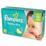 Maxi Pack 290 Couches Pampers Baby Dry sur layota